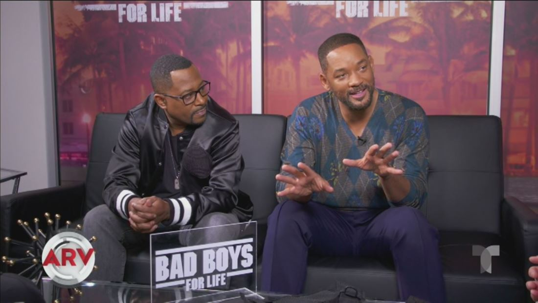 Will Smith y Martin Lawrence revelan sus anécdotas con Kate del Castillo