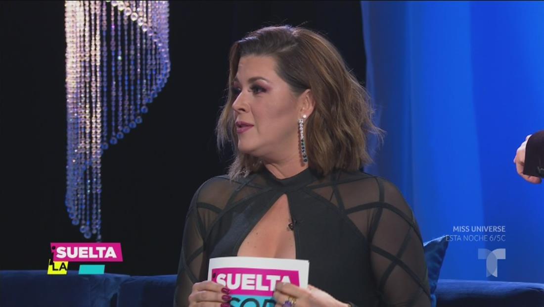 Alicia Machado: las 2 horas antes del concurso son las más importantes (VIDEO)
