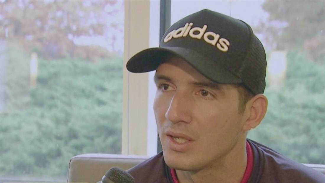 Jorge Pinos cuenta cómo pasó de vender frutas a ser un futbolista profesional