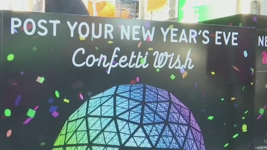 """Miles acuden al """"Muro de los deseos"""" para hacer sus peticiones para el 2020"""