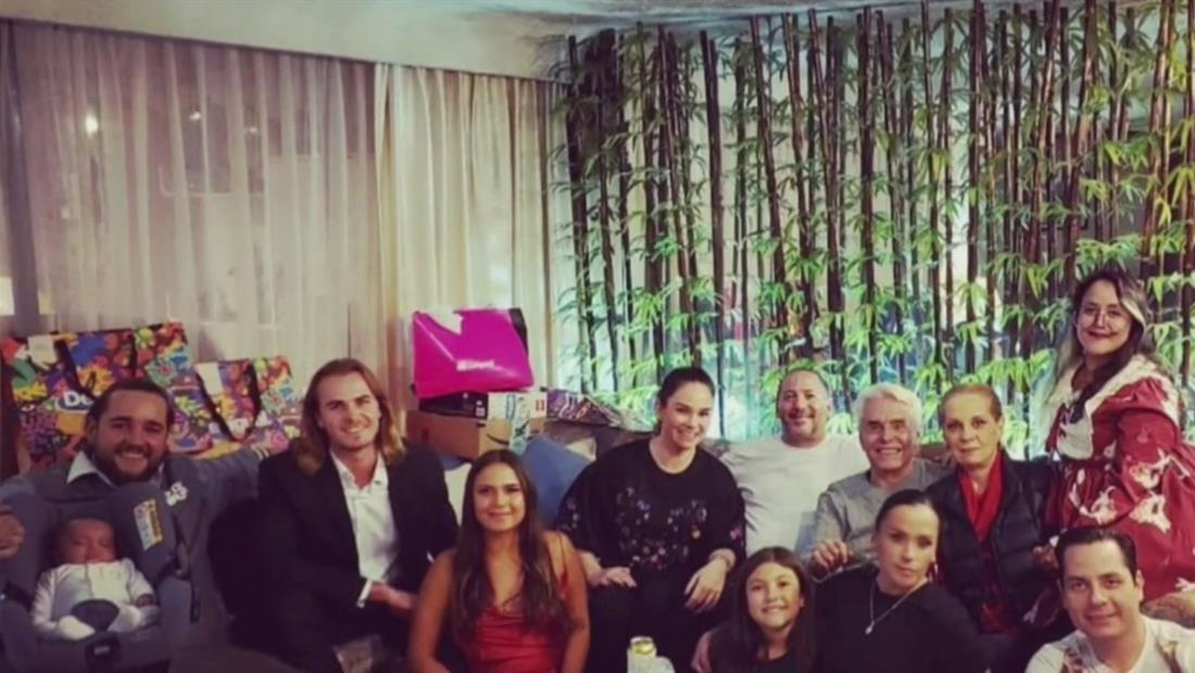 Silvia Pinal reunió a su familia en Navidad pero hubo grandes ausentes