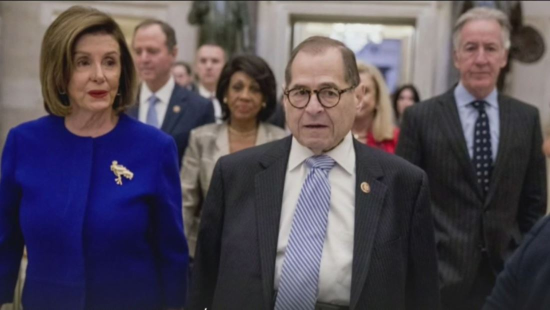 Presentan cargos oficiales contra el presidente Trump por abuso de poder y obstrucción a la labor del congreso