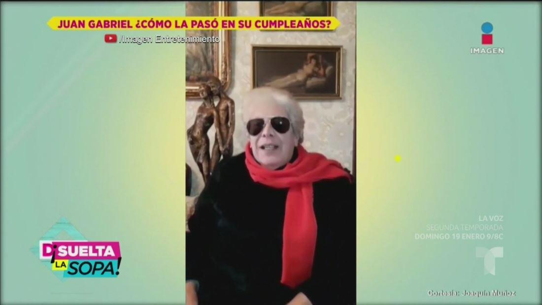 Joaquín Muñoz asegura que a Juan Gabriel le tocó el 'muñequito'