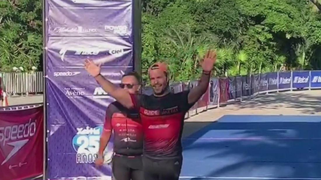 Pablo Montero: de cantante a atleta de triatlón (VIDEO)
