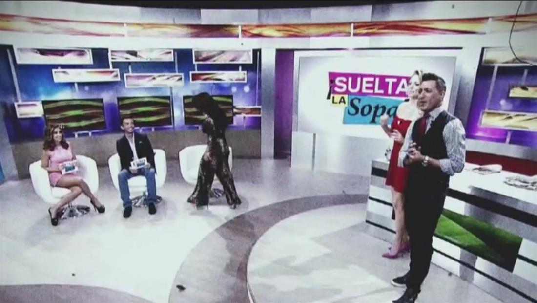 ¿Cómo llegaron nuestros periodistas a Suelta La Sopa? (Video)