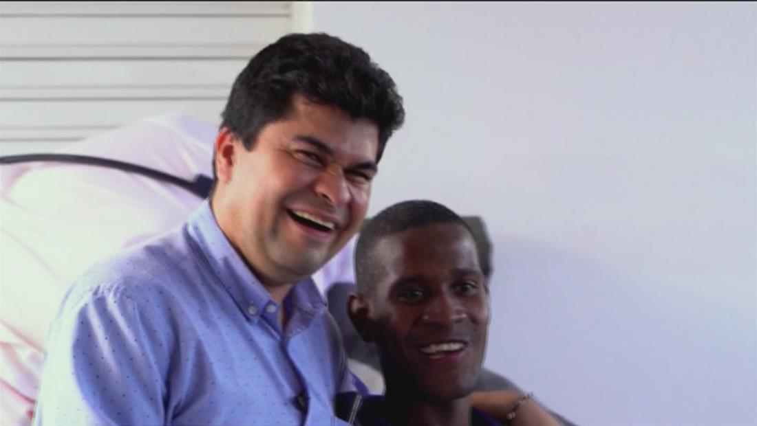 Jeison Aristizábal venció los límites de su discapacidad para ayudar a otros
