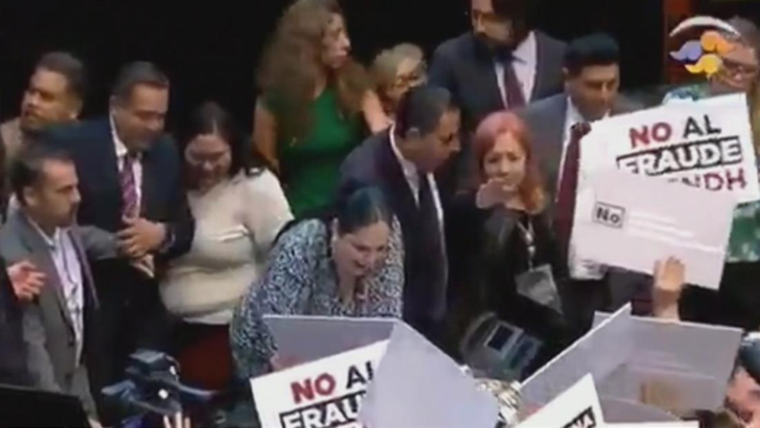 México elige la nueva titular de CNDH en medio de denuncias y protestas