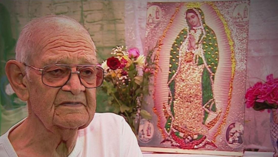 ¿Qué significa la Virgen de Guadalupe para un abuelito de 89 años?