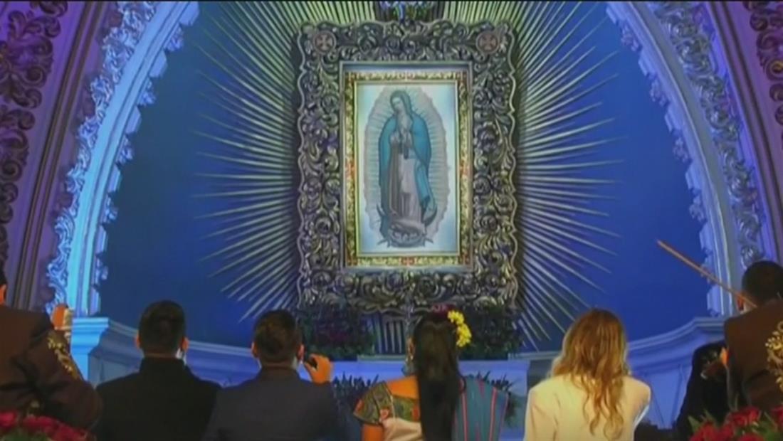 Más de 10 millones de peregrinos visitan la basílica Virgen de Guadalupe en su día grande