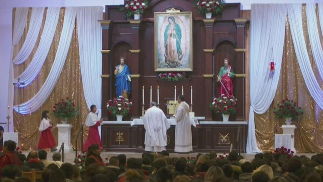 Chicago también celebra el Día de la Virgen de Guadalupe