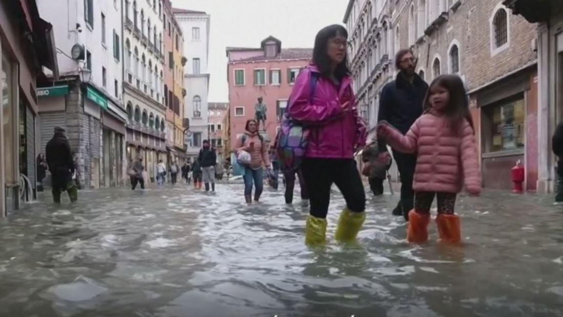 En video: Venecia sufre su peor inundación en más de medio siglo