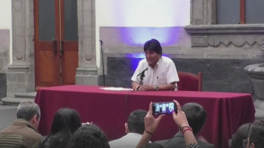 Evo Morales se defiende de acusaciones de fraude electoral