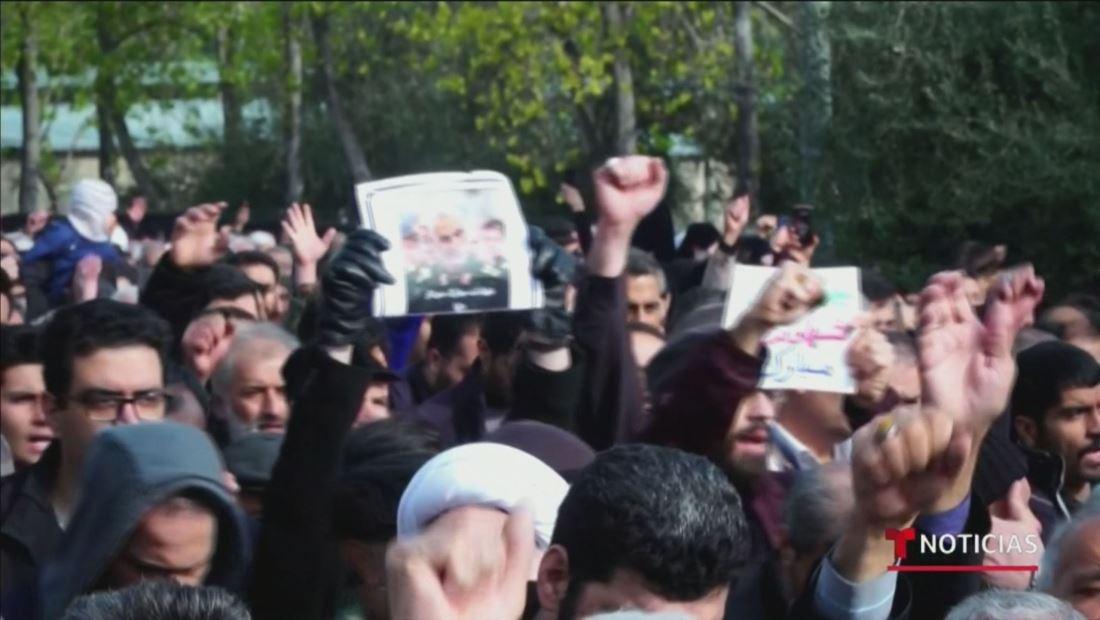 Irán amenaza con una dura venganza por la muerte de su máximo líder militar