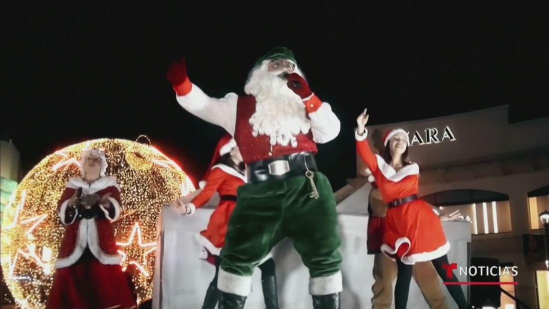 Santa Claus dejó el Polo Norte para mudarse a El Salvador