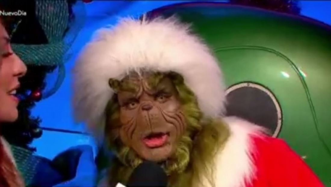 La Navidad llegó al parque Universal Studios Hollywood