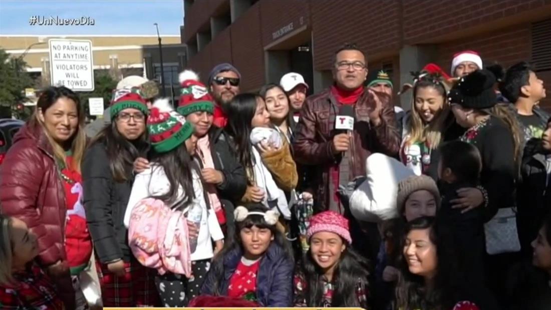 El desfile navideño de Dallas es otra tradición latina
