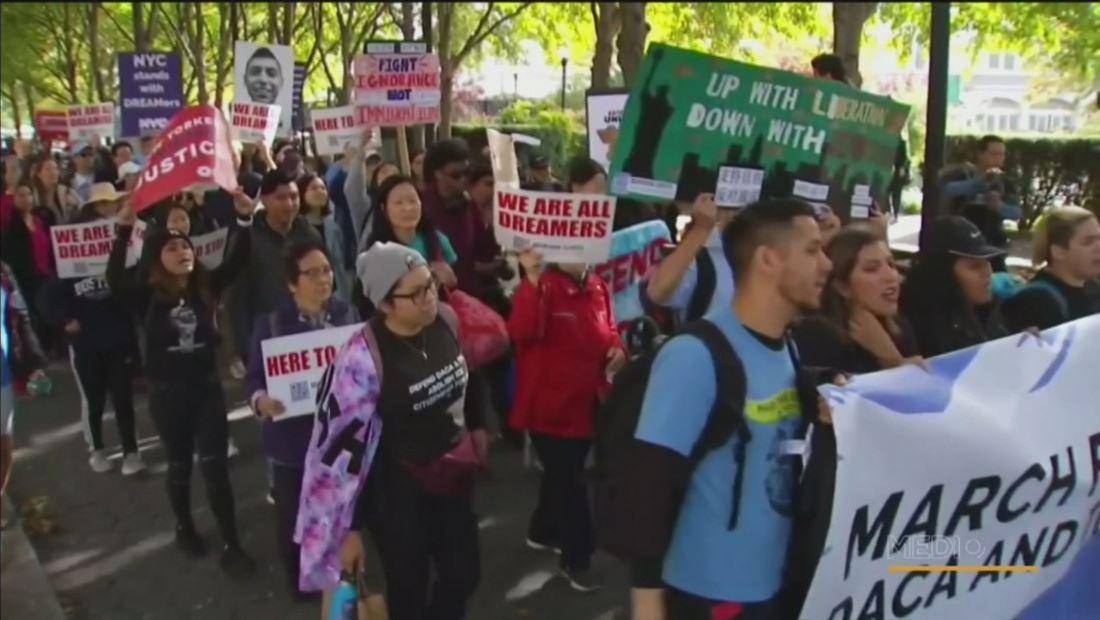 Dreamers caminan de Nueva York a Washington DC para defender el programa de DACA