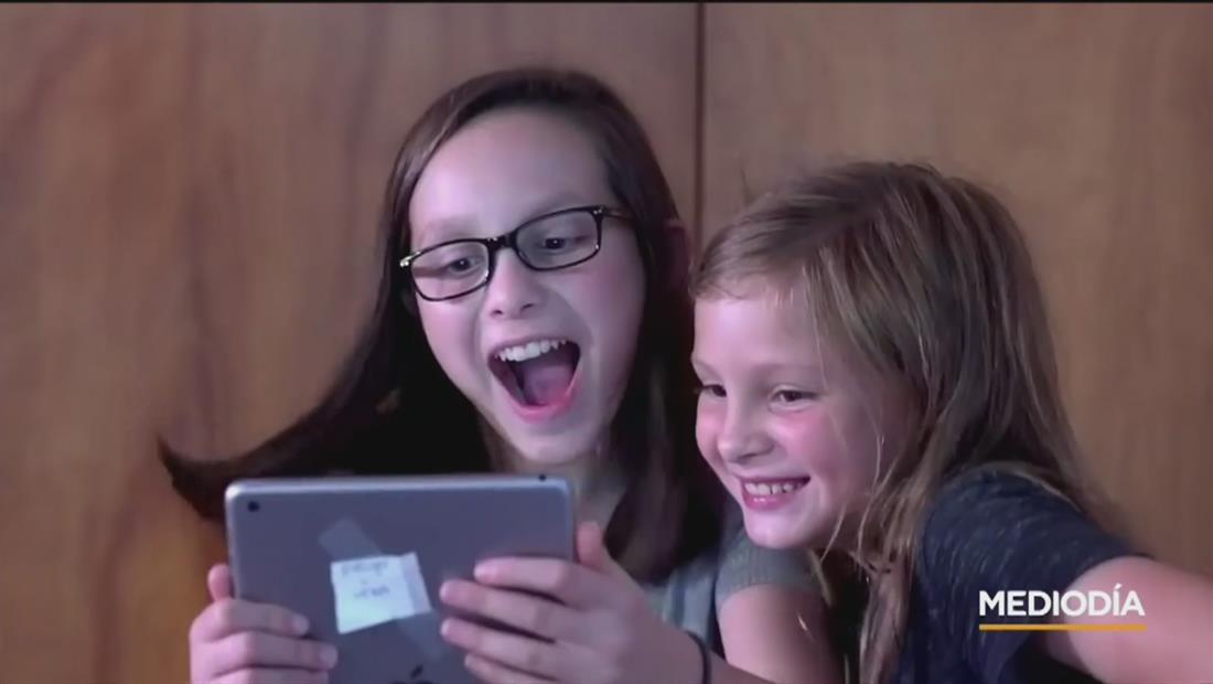 Las pantallas de teléfonos y tabletas podría afectar el desarrollo cerebral de los niños