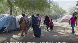 """""""Aquí todos los niños se enferman"""": así viven los menores olvidados en las carpas fronterizas de Matamoros"""