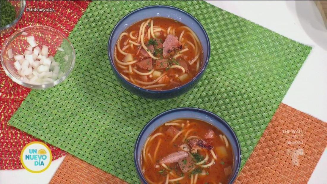 Receta de sopa de jamón con salchichón, ¡una delicia puertorriqueña!