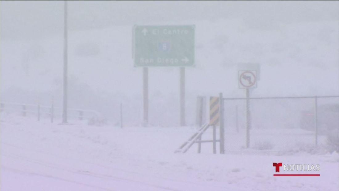 Poderosa tormenta invernal azotará mañana varios estados del país, cuando millones de personas regresan tras la Navidad