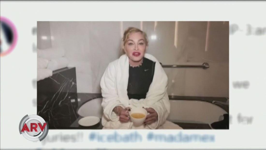 Madonna se toma su propia orina y escandaliza a sus seguidores