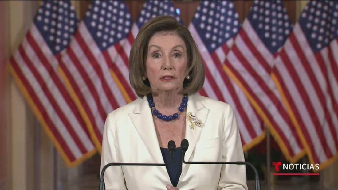 Nancy Pelosi ordena comenzar a redactar los cargos para juicio político contra Donald Trump
