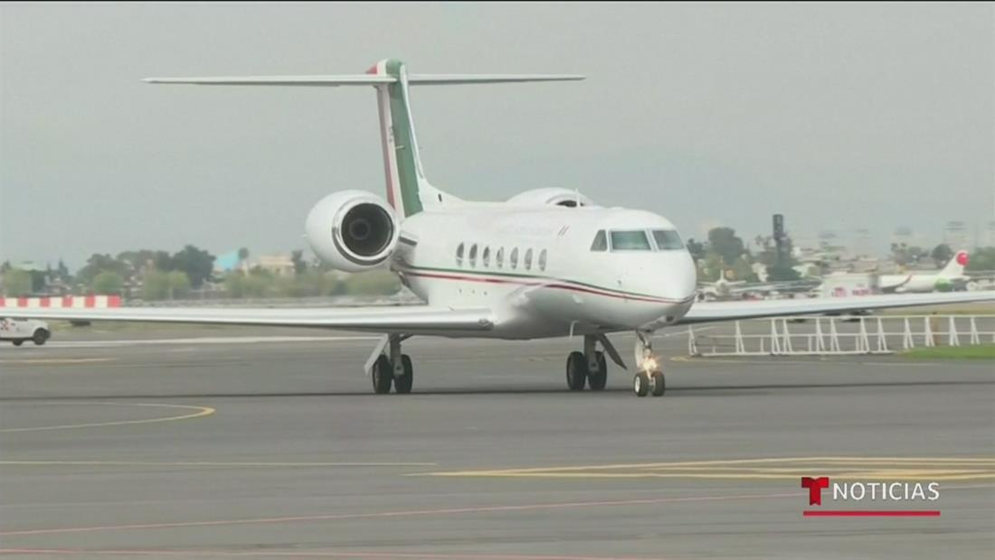 México mantendrá en secreto el plan de vuelo del avión que trasladó a Evo Morales desde Bolivia