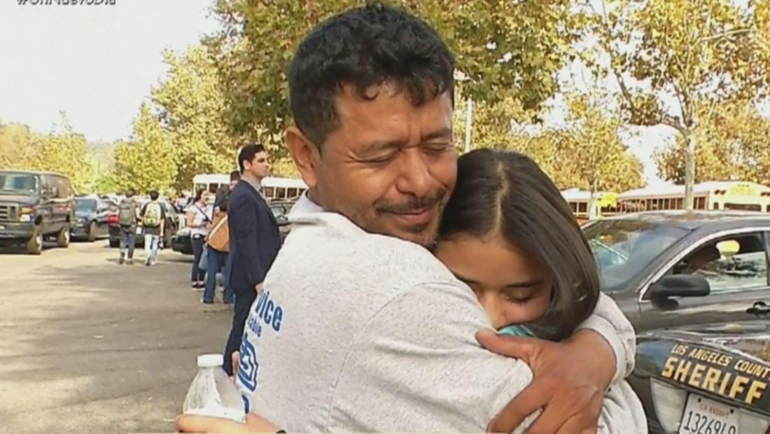 Tiroteo en Santa Clarita: desesperación y angustia para las familias de Saugus