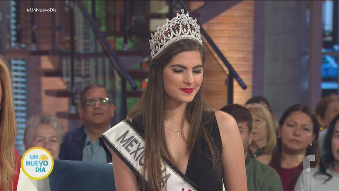 Sofía Aragón, Miss México, revela su secreto para llegar a Miss Universo 2019