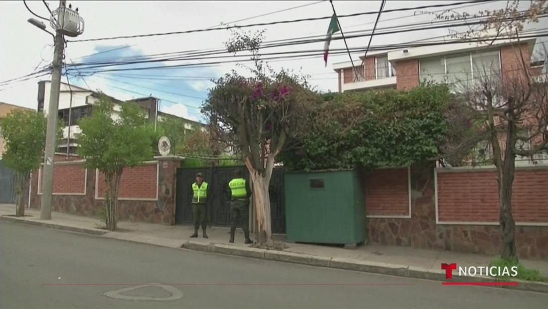 México denunciará a Bolivia por supuesto asedio a su embajada en La Paz