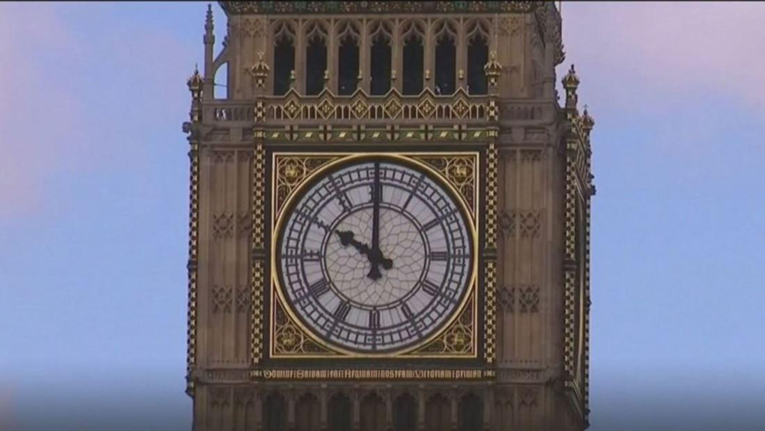 Todo listo para que el Big Ben marque la llegada de la nueva década