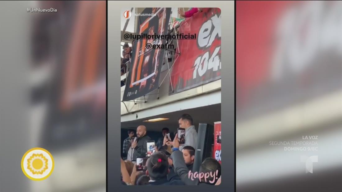 Lupillo Rivera le dio una gran sorpresa a las pasajeros de una estación de metro