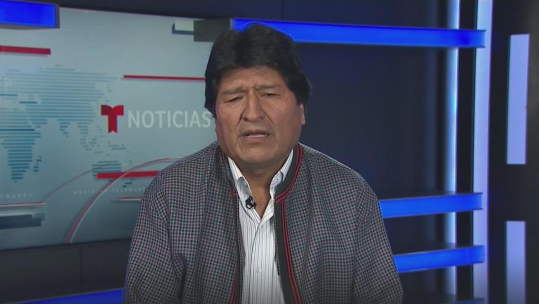 Evo Morales niega cualquier vinculación con el hijo de 'El Chapo' desde su exilio en México